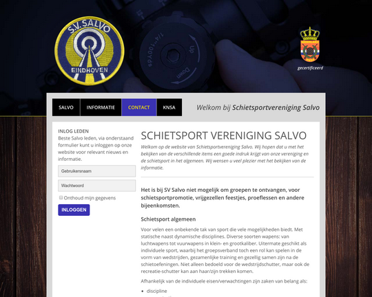 Schietsport vereniging Salvo Logo
